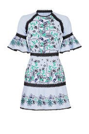 Embroidered Logan Dress by AMUR