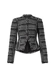 Black Shrunken Jacket by Derek Lam 10 Crosby