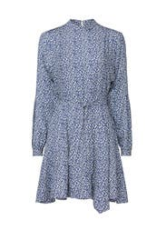 Blue Printed Dress by Derek Lam 10 Crosby