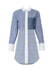 Blue Striped Jay Dress by Elizabeth and James
