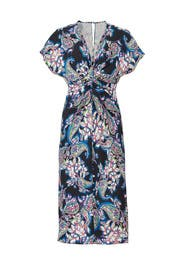 Jackie Knot Front Dress by Prabal Gurung