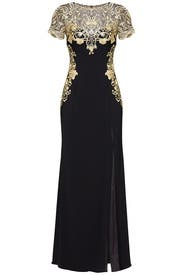 Gilded Gate Sweetheart Gown by Marchesa Notte
