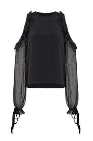 Black Fernand Top by Alexis