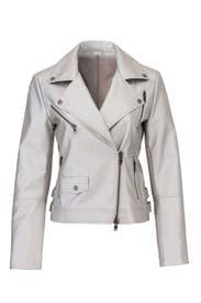 Hudson Faux Leather Jacket by Rebecca Minkoff