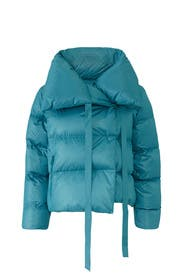 Blue Puffa Jacket by Bacon