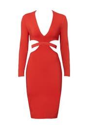 Red Trixie Dress by Bec & Bridge