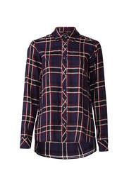 Plaid Boyfriend Shirt by Michael Stars
