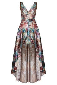 Stardust High Low Gown by Marchesa Notte