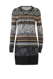 Nordique Sweater Dress by Fuzzi