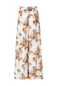 Floral Annie Pants by Haute Hippie