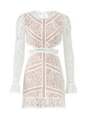White Emerie Cut Out Dress by For Love and Lemons