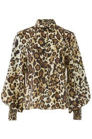 Leopard Romana Top by Alexis