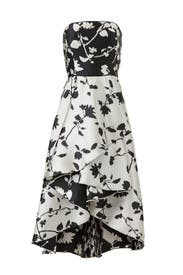 Isabell Strapless Dress by Shoshanna