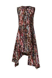 Pink Clematis Printed Dress by Marni