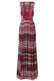 Printed Suzi Maxi Dress by SALONI