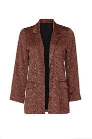 Teri Printed Blazer by B Collection by Bobeau