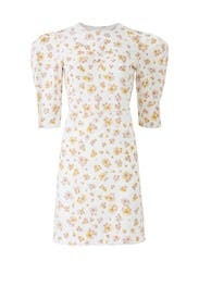 Floral Puff Sleeve Dress by See by Chloe