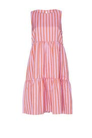 Sleeveless Peasant Dress by MDS Stripes
