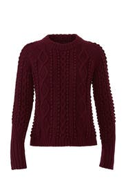 Popcorn Cable Wool Pullover by 3.1 Phillip Lim