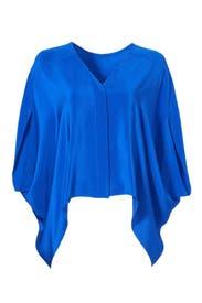 Vivid Blue Blouse by DEREK LAM