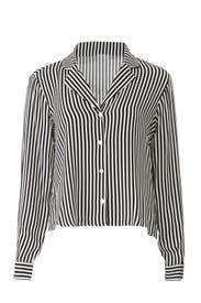 Stripe V-Neck Shirt by MINKPINK