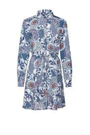 Zen Garden Floral Shirtdress by Slate & Willow