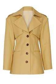 Billy Short Trench Jacket by Khaite