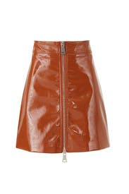 Penelope Pleather Skirt by Ronny Kobo