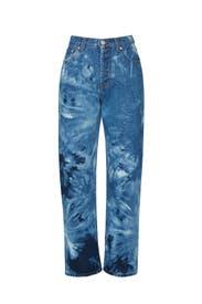 Tie-Dye Jeans by MSGM
