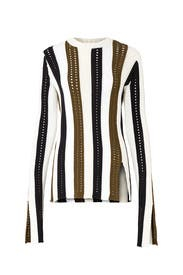 Army Multi Sweater by Derek Lam 10 Crosby