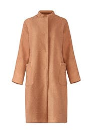 Rachel Boucle Coat by Greylin
