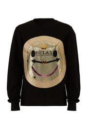 Black Relax Sweatshirt by Nil & Mon