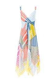 Striped Goldie Dress by Tanya Taylor