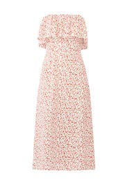Cherry Fiona Midi Dress by Flynn Skye