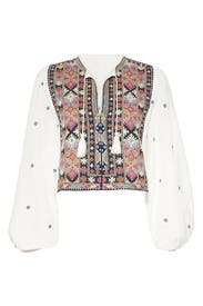 Enter Loveland Embroidered Top by Free People