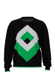 Cube Crew Neck Sweater by Diane von Furstenberg