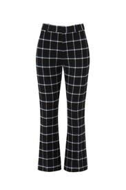 Black Plaid Trouser by Derek Lam 10 Crosby