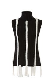 Braided Sleeveless Turtleneck by Derek Lam 10 Crosby