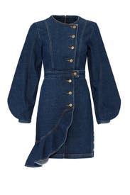 Denim Sammy Dress by AMUR
