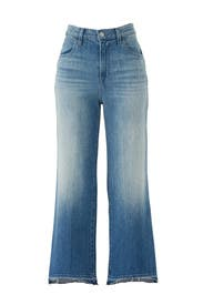 Joan High Rise Crop Jeans by J BRAND