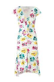 Floral Blooms Dress by Emanuel Ungaro