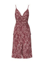 The Snake Print Bella Dress by Fame & Partners