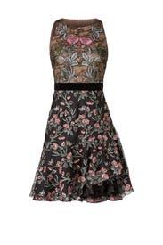 Floral Rose Dress by ML Monique Lhuillier