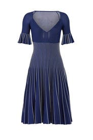 Metallic Pleats Bustier Dress by Jonathan Simkhai