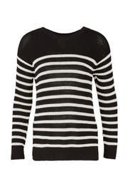 Striped Gianna Sweater by Fuzzi