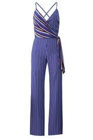 Felix Stripe Jumpsuit by rag & bone