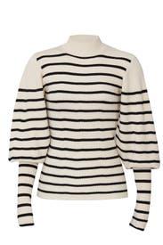 Joanne Puff Sleeve Sweater by Khaite