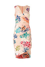 Floral Stephanie Sheath by Nicole Miller