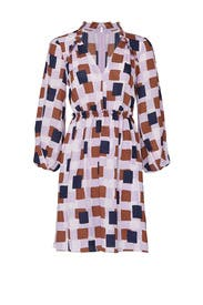 Geo Squares Dress by kate spade new york