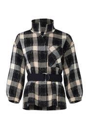 Belted Plaid Jacket by Derek Lam 10 Crosby